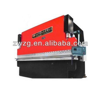 WE67K 125T x 3.2m cnc hydraulic press brake with TUV CE certification and competitive price