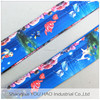 Printed bright color Underwater World baggage luggage bag belt for travel