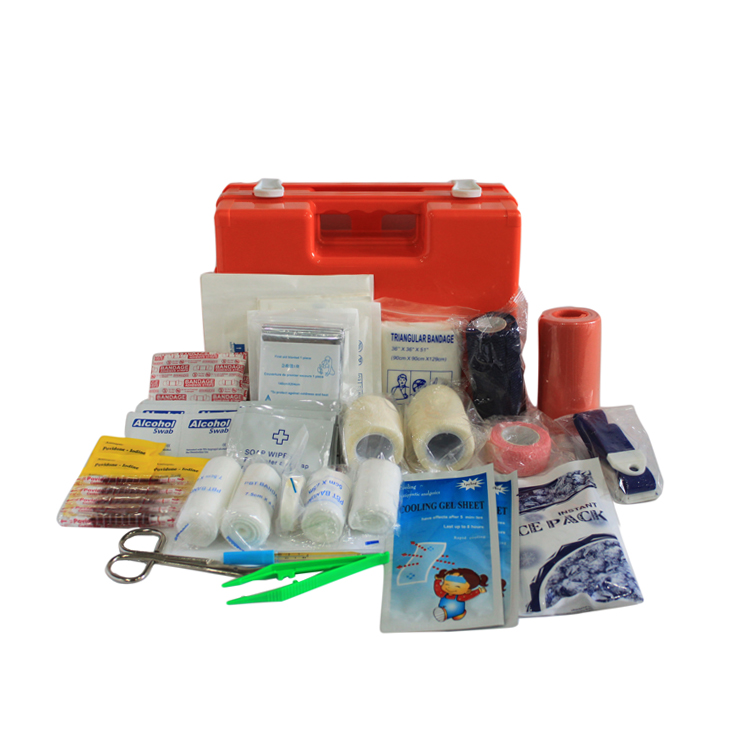Bus Card Needed Travel Camping Carry on EVA Emergency Survival First Aid Kit