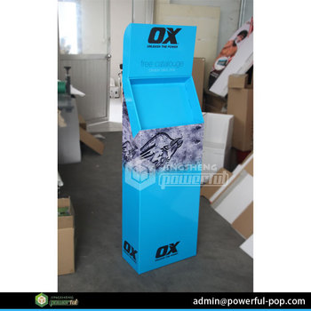 Direct Factory Corrugated Mobile Phone Display Counter
