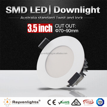 super thin round low profile 25W led ceiling light Epistar SMD 5730 led light fixture