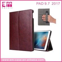2017 New PU Leather Case Handle Design Tablet case for iPad 6