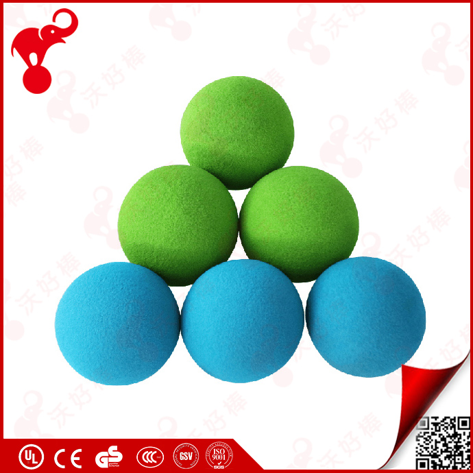 2017 hot sale promotional gift custom color NBR foam soft rubber toys for kids