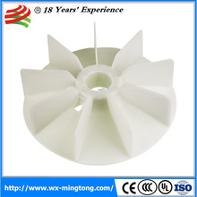 Hot sale electric motor cooling plastic fans