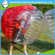 Wholeseller inflatable ball suit, bubble football, human bumper bubble ball