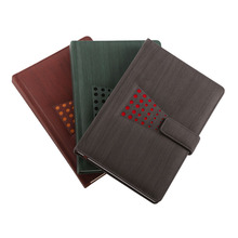 Cheap custom promotional hardcover pu leather a4 journal notebook