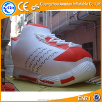 Giant inflatable shoe for sale, inflatable replica