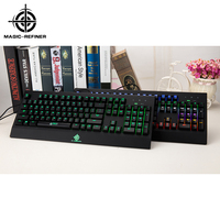 Customized designs desktop mechanical glow in the dark keyboard cover gaming