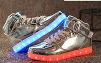 2016 big sale shoes Fashion comfort stylish USB Charge LED Shoes for Party,led light shoes