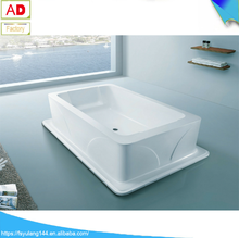 AD-2516 China fico freestanding acrylic bathtub / big soaking bathtub for spa /best seller for home