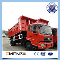 Hight quality dongfeng Euro 3 4x2 10t mini dump truck for sale with good price