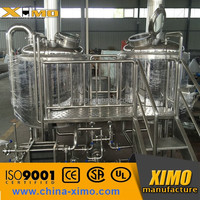 Hot sale professional small red copper beer brewery equipment/beer making equipment