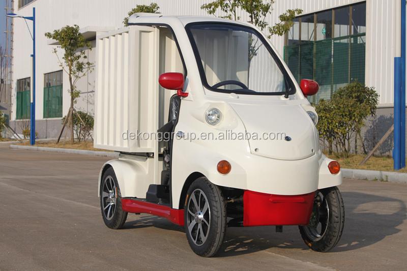 m faible co t 4 roues basse vitesse eletric voitures pour les marchandises transport usage. Black Bedroom Furniture Sets. Home Design Ideas
