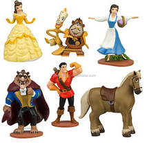 Accept OEM Cartoon Character Anime Figure / PVC Plastic One Piece Action Figure/ Custom Cheap Kids Toys