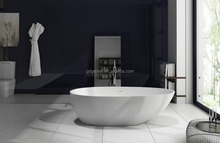 OEM Acrylic Solid Surface /artificial stone freestanding Bathtub GM-8004 in factory price