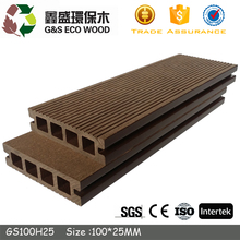 engineered wood outdoor timber Deck Boards synthetic wood decking low price wpc flooring