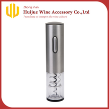 Stainless Steel Electric Wine Bottle Opener With Foil Cutter/Wine Corkscrew