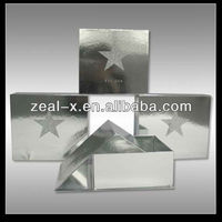 2013 New Products Glossy Cardboard Box With Shiny Surface Folding