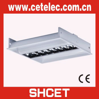 T8 Louver Fitting/Grill Fluorescent Light Fixture