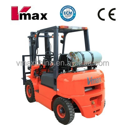 CPQYD20 Gasoline/LPG/CNG forklift truck with nissan k21engine