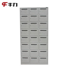 Modern Design Steel 24 Doors Mailbox with Key Lock for Garden or Post Office