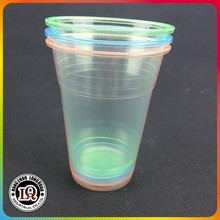 Disposable clear Plastic PP 16OZ 500ml Hot Water Cup