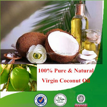 100% Natural & pure virgin coconut oil bulk with high quality, factory supply organic coconut oil