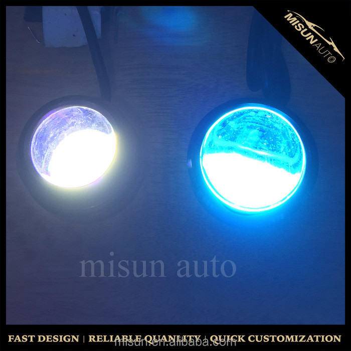 2X15W LED Crystal Eagle Eye Light Car Auto DRL Daytime Driving Signal Lamp 15W 12V