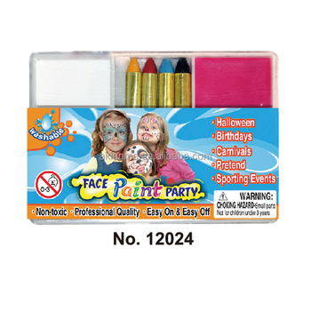 Face Color Stix Cosmestic Crayons Water Soluble Crayons Wax Crayons for Kids