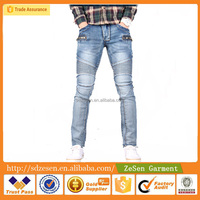 Classic Jeans Cotton Polyester Long Jeans Casual Biker Men Jeans Pants Wholesale From China
