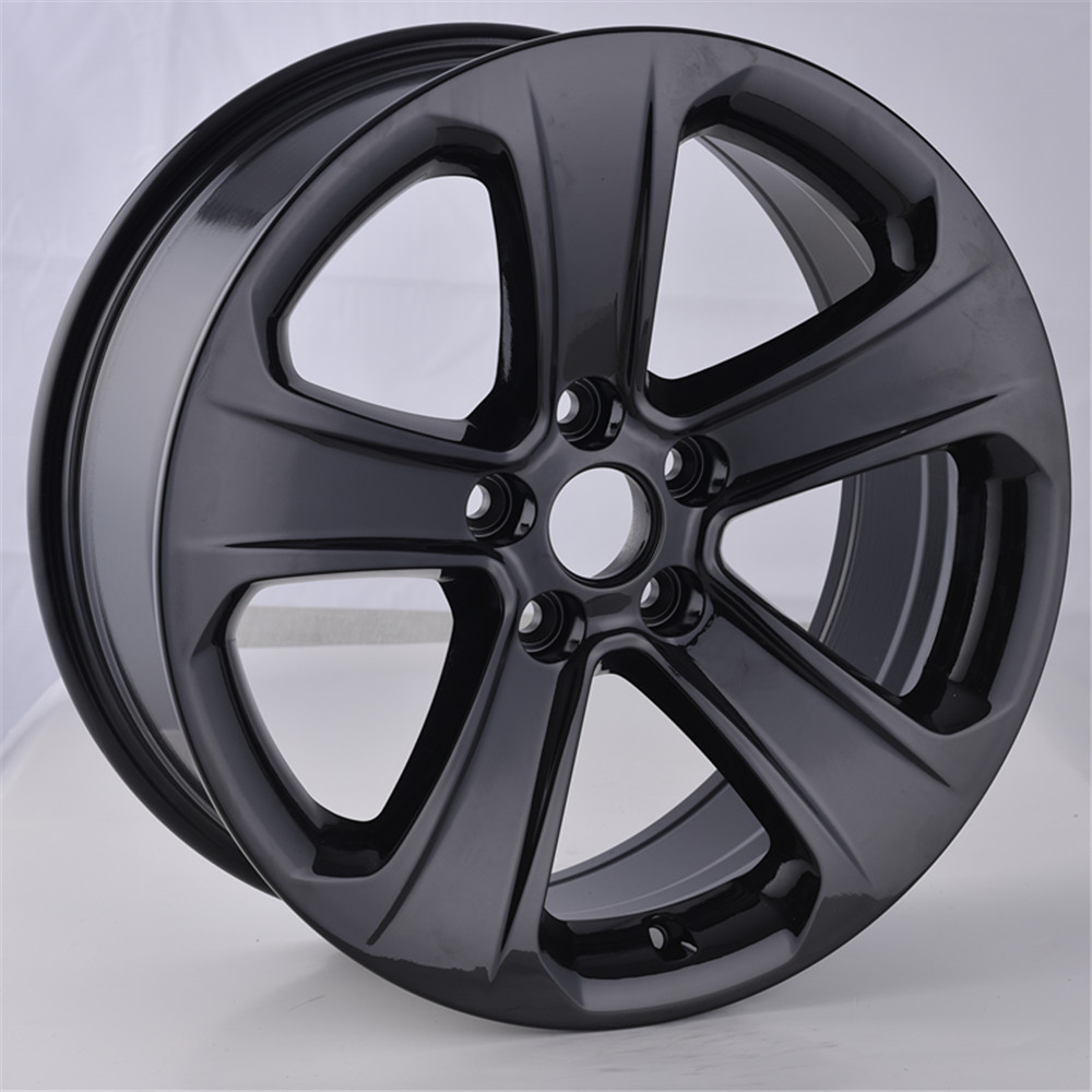 New design Matte Black Size 18 inch 5X114.3 Concave wheel Replica Aluminum alloy wheel rims