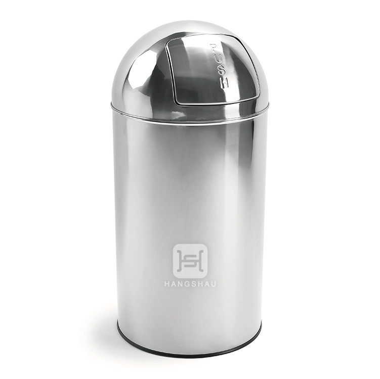 high quality 50L stainless steel recycle bin(without inner bucket)