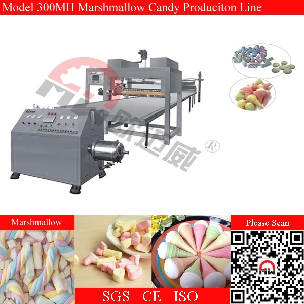OMW automatic marshmallow production line, marshmallows making machinery