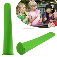 Ice Pop Makers Molds Reusable Popsicle Ice cream Freezer Homemade Silicone DIY