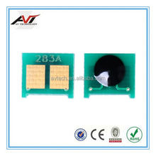 printer cartridges chip compatible for hp 83a cf283a toner chip reset