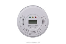 2015 hot selling carbon monoxide detector human voice alert with cheap price