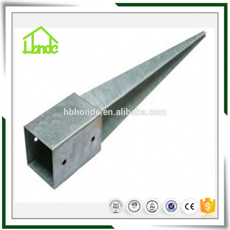 Heavy Duty Shield Ground Post Anchor