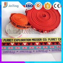 Good Quality New Woven Custom Printed Cotton Webbing