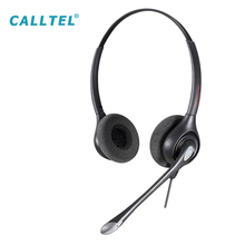 Professional Binaural Call Center Telephone USB Headset for Contact Center Operators
