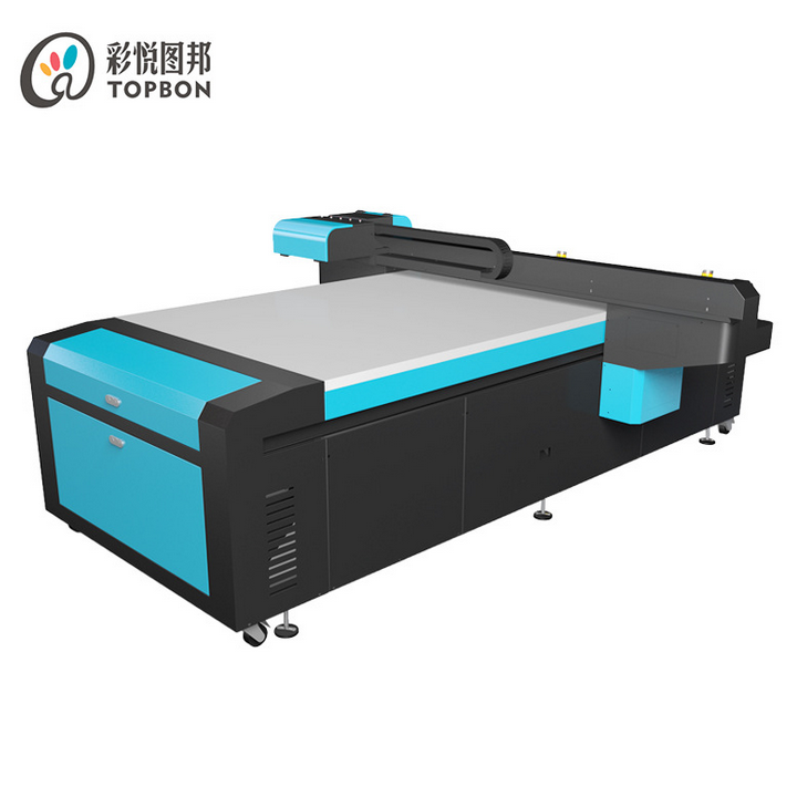 Double DX7 Heads Large UV LED Flatbed Printer
