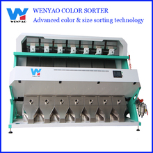 High sorting accuracy 4-5 tons per hour CCD color sorter/ sorting machine for Roasted Nuts