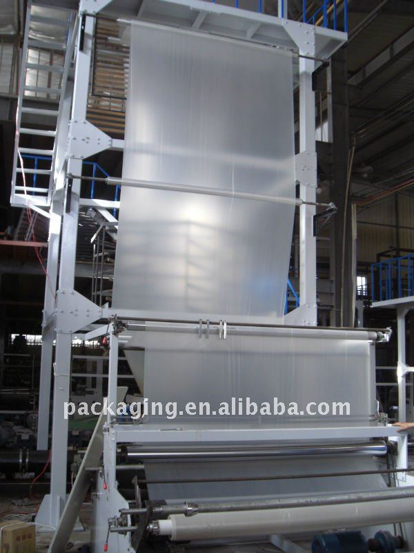 SJ-C75 / C90 / C105 / C120 HDPE LDPE Film Blowing Machine