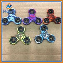 2017 Camouflage and multicolor fidget spinner EDC 3 bar spinner