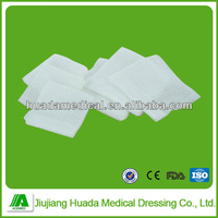 Surgical 100% cotton gauze swabs/sponges for hospital