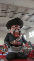 2014 New large airblown inflatable Cartoon, inflatable bouncer ,inflatable dragon