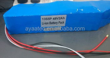 Rechargeable 46.8V/17Ah Li-ion/Li-po Battery pack with PCM 20A