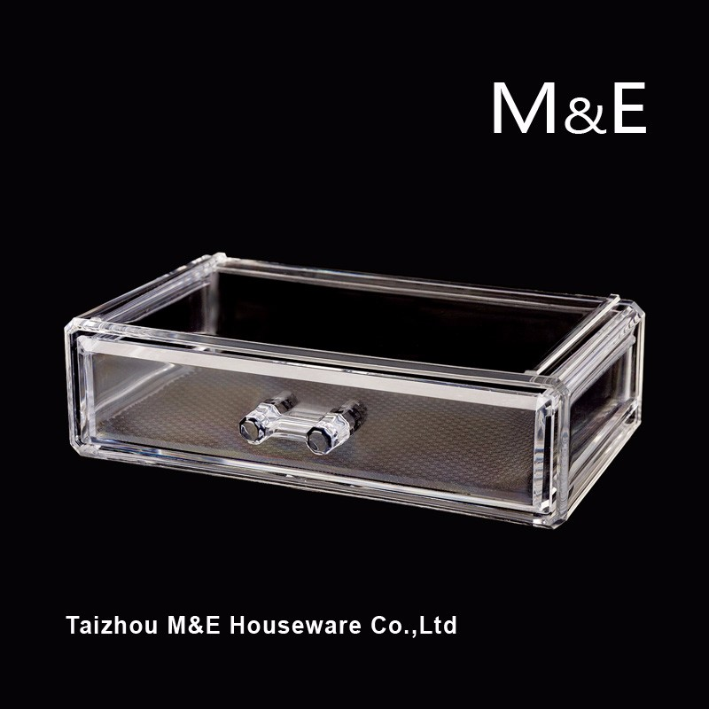 Large Acrylic Cosmetics Makeup and Jewelry Storage Display Case