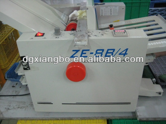 ZE-8B/4 Auto paper Folding Machine of wing mau