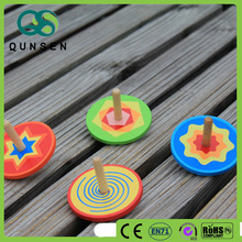 Gifts for kids mini spinning top wood toy