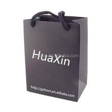 Elegent good quality wine paper packaging bag